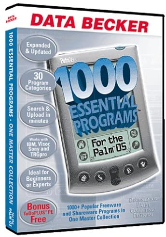 1000 Essential Programs for the Palm OS