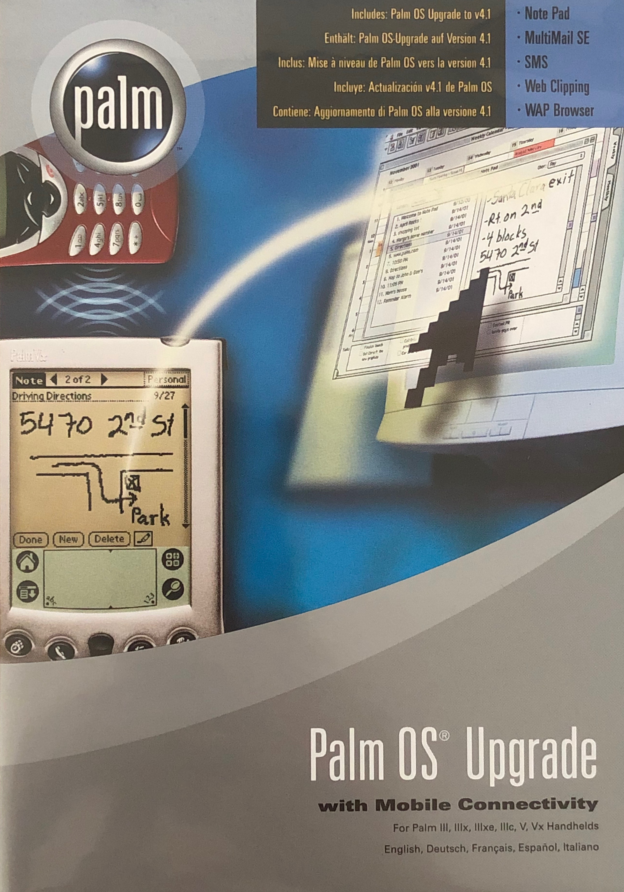 Palm Os4 Upgrade Disc Iii Vx