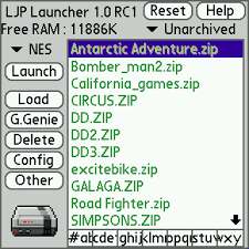 LittleJohn Palm OS (LJP) Emulator